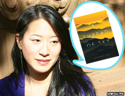 Deanna Fei author of A Thread Of Sky